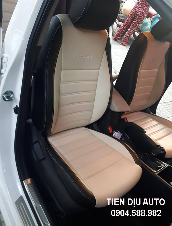 Bọc ghế da xe Huyndai Accent