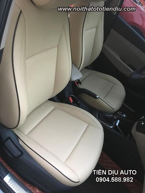 Bọc ghế da xe Accent