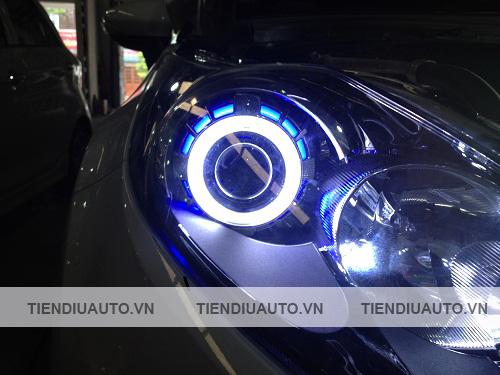 độ đèn bi xenon ô tô