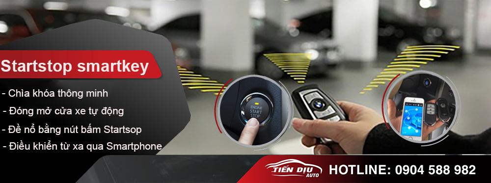chìa khóa thông minh startstop smartkey ô tô