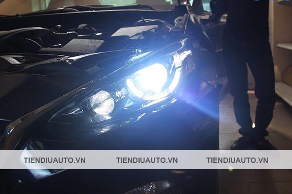 độ đèn led ô tô