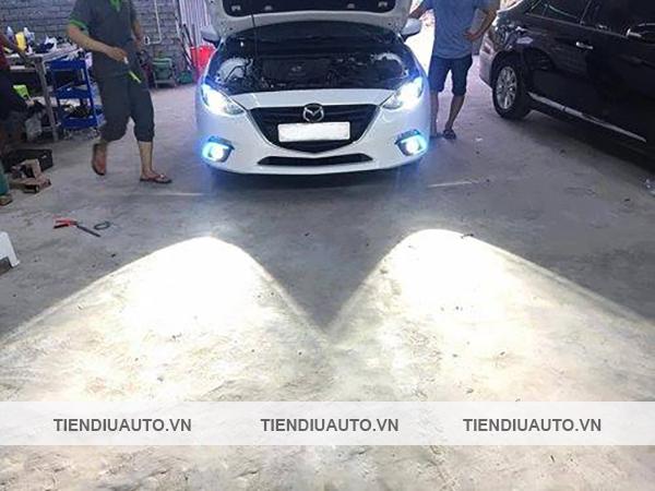 độ đèn xenon ô tô