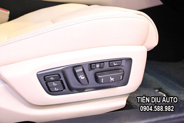 ghế chỉnh điện ô tô