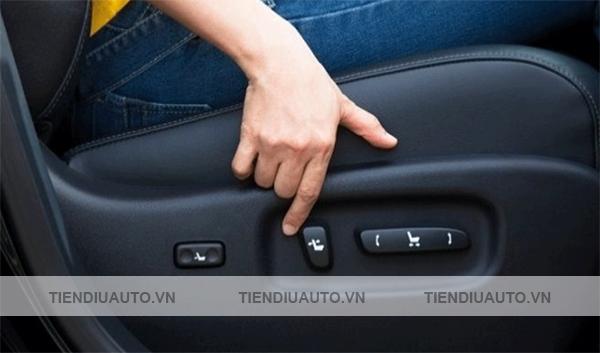 độ ghế chỉnh điện ô tô