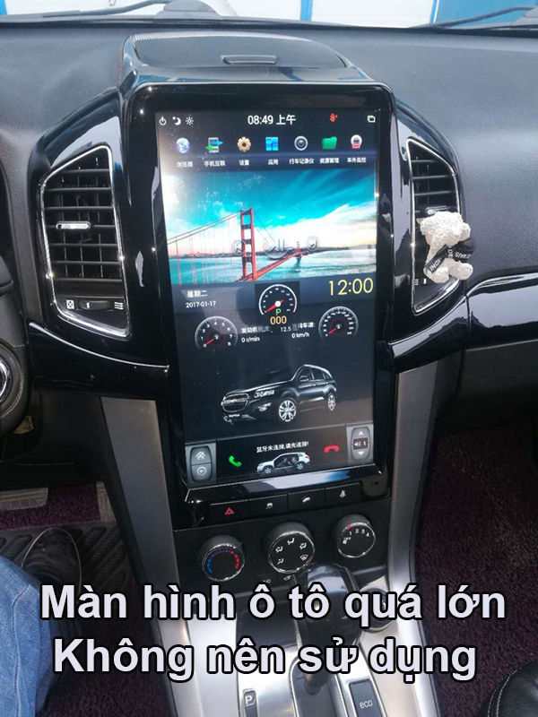 màn hình ô tô tesla