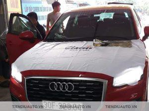 Dán phim cách nhiệt Classis xe Audi chống nắng