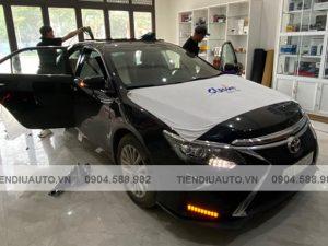 Dán phim cách nhiệt xe Toyota Camry uy tín tại Hà Nội