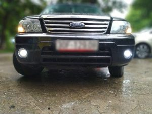 Độ đèn xe Ford Focus siêu sáng giúp lái xe an toàn