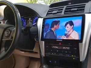 Màn hình Android Fujitsu xe Toyota Camry chính hãng, chất lượng cao