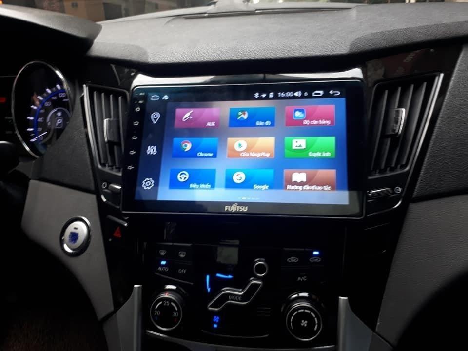 Màn hình Android Fujitsu xe Mitsubishi Pajero