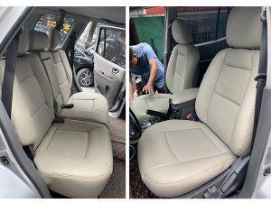 Bọc ghế da xe Accent bằng chất liệu nào là phù  hợp nhất?