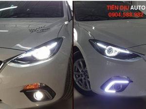 Bật mí 3 cách độ đèn xe Mazda 3 đẹp và sáng nhất