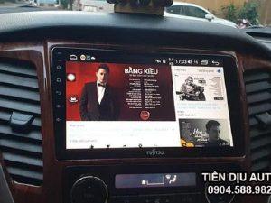 Từ A – Z về màn hình Android Fujitsu xe Toyota Vios