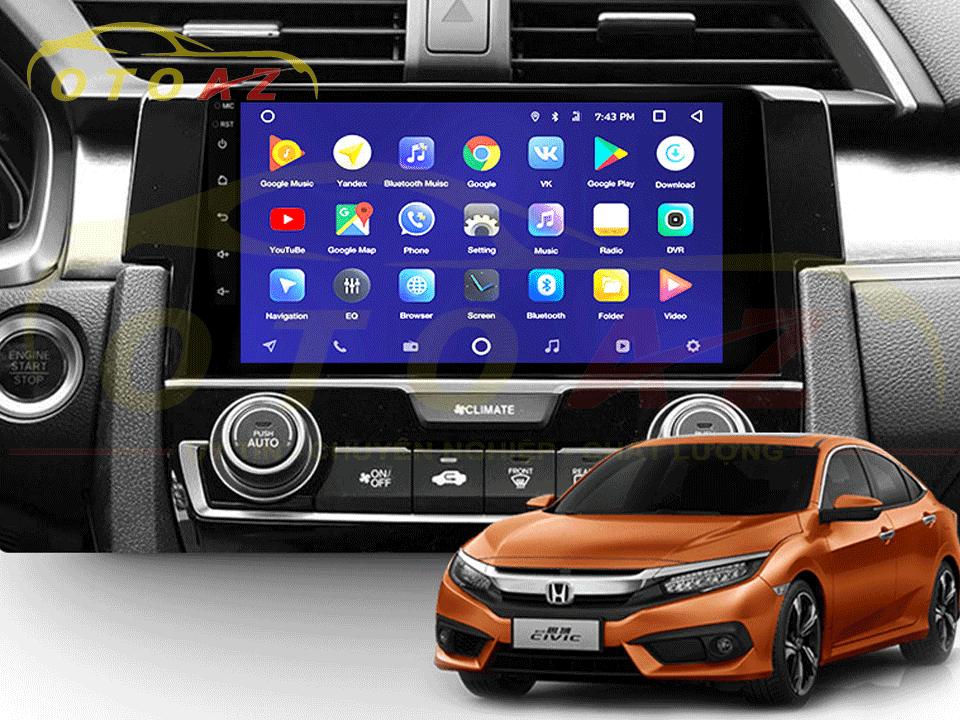 Có nên lắp đặt màn hình Android xe Honda Civic