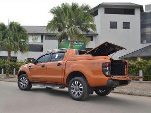 Nắp thùng xe bán tải Ford Ranger thịnh hành nhất hiện nay